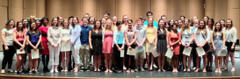 french students finish in top 10, inducted into whs french honor society